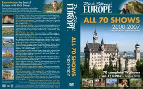 rick steves europe all 70 shows 2000 2007 tv dvd custom