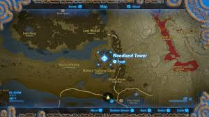 The Forest Map How To Get Through The Lost Woods In Breath Of The Wild Polygon