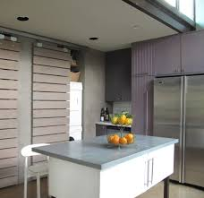 chicago sliding door ideas kitchen farmhouse with butcher block
