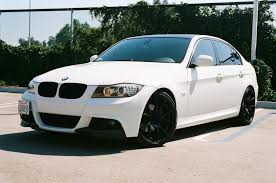2006 white bmw 325i just another black and white