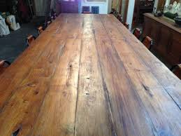 Reclaimed Timber Dining Table 16 Seater Recycled Timber Dining Table Mulbury