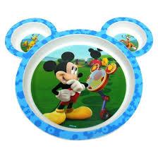 disney baby mickey mouse 4 piece feeding target