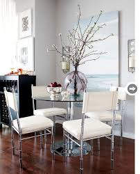 Dining Table In Living Room Best 25 Glass Dining Room Table Ideas On Pinterest Glass Dining