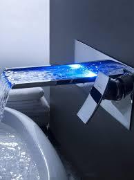 designer faucets bathroom prepossessing ideas bfacaacd waterfall