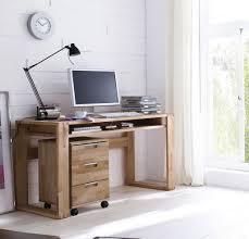 Massivholz Schreibtisch Buche Schreibtisch Computertisch 135x60 Kernbuche Massiv Geölt Gewachst