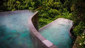 hotel u0026 resorts hanging infinity pools in bali at ubud hotel