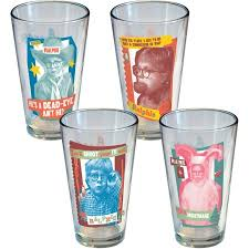 a story retro ralphie pint glasses set of 4 walmart
