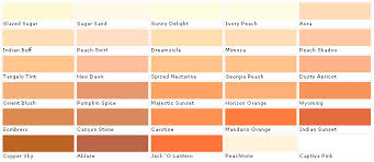 100 peach paint color names 36 best martha stewart palettes