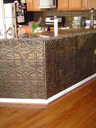 Tin Backsplash For Kitchen by One Idea I Considered For My Kitchen Was A Backsplash Made Of Tin