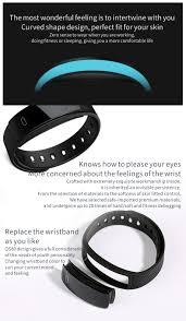 kaload qs80 smart bracelet blood pressure rate monitor ip67