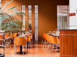 Restaurant Reception Desk by Sofitel London Gatwick 5 Star Hotel In Crawley