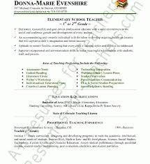 Teacher Assistant Resume Sample by Classy Design Resumes For Teachers 9 Teacher Resume Sample