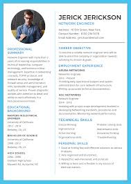 network engineer resume free network engineer resume and cv template in adobe photoshop