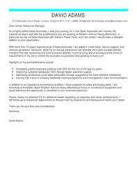 sales associate cover letter examples for customer service