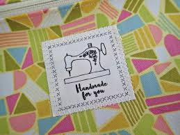 printable fabric tags handmade for you printable fabric labels so sew easy