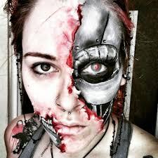 halloween makeup wax terminator makeup cosplay amino