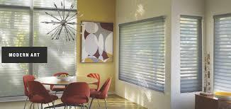 Custom Window Treatment by Decorating With Modern Art Custom Window Coverings Durango