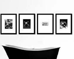 Wall Art For Powder Room - bathroom wall art etsy