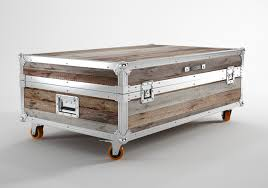 trunk coffee table restoration hardware 3 functions of trunk