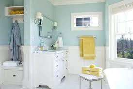 blue painted bathroom vanity the best paint colors for bathrooms