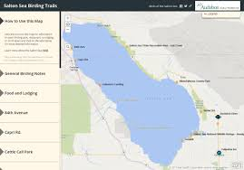 Frost Line Map New Online Map For Birding The Salton Sea Audubon California