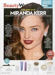 makeup how to miranda kerr u0027s met ball look rmsbeautyblog