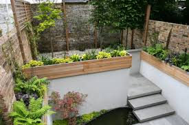 amazing small garden design with elegant garden design with fish