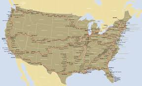 Maps Route by Amtrak Route Map U2022 Mapsof Net