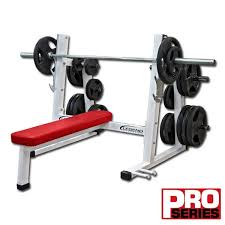 Olympic Bench Set With Weights Olympic Flat Bench Legend Fitness