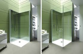 space saving bathroom ideas flat folding shower frees up space in compact bathrooms