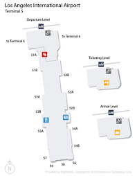 lax gate map los angeles airport lax guide fly to los angeles with flight