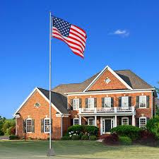 United States Flag Store Coupon Code Yeshom 25ft Flag Pole Aluminum Telescopic Flagpole Kit Us Flag