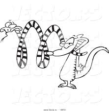 cleopatra coloring pages vector of a cartoon mongoose attacking a snake outlined coloring