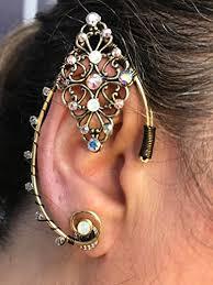 wire ear cuffs elven ear cuffs silver or gold magical fairy ear cuffs wire elven