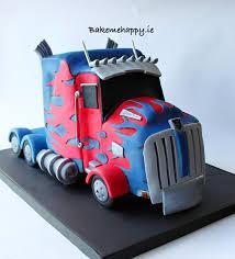 optimus prime cakes optimus prime cake cake by elaine boyle bakemehappy ie