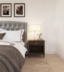 Transitional Style Bedrooms by Super Relaxing U0026 Elegant Bedroom Interior Design In Beige U0026 Gray