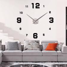 Grande Horloge Murale Pas Cher by Murale Sans Cadre