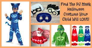 the mask costume find the pj mask costume your kid will never want to