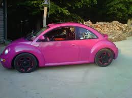 volkswagen beetle modified black pink bug has anyone ever seen one newbeetle org forums