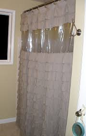 abby diy clear view shower curtain