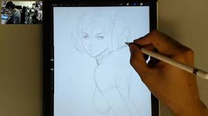 artgerm u0027s artist review of ipad pro and apple pencil parka blogs