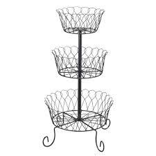 3 tier fruit basket black tiered fruit basket 3 tiered fruit basket kimball