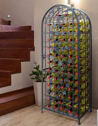 top 10 interesting metal wine racks for your dining room cute