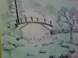 photos easy nature art drawings drawing art gallery