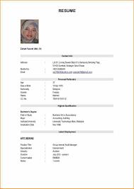 Format Resume Pdf Bahasa Melayu by Format Resume Terkini 2012 Youtuf Com