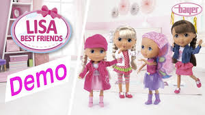bayer design puppe best friends doll puppe demo bayer design