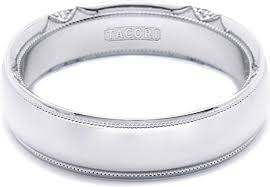 tacori wedding bands tacori mens wedding band 6 0mm 6161