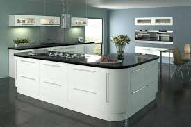 Gloss White Kitchen Cabinets Lumi White Gloss Diy Kitchen Finsa Home