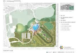 site plan canada u0027s diversity gardens