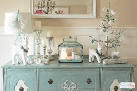 White Christmas Room Decorations by White Christmas Decorations Winter Wonderland Vignette